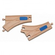 Maxim Enterprise Mechanical Curved Switch Track (2-Piece)