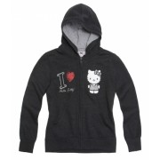 Hanorac Hello Kitty gri 2694