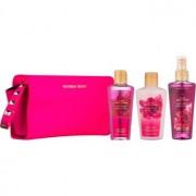Victoria's Secret Pure Seduction coffret I. spray corporal 125 ml + gel de duche 125 ml + leite corporal 125 ml + bolsinha