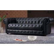 items-france CHESTERFIELD 2 - canape 3 places 206x97