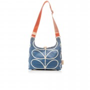 Orla Kiely Women's Marina Stem Mini Sling Bag - Marine