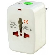 Stackfine Travel Worldwide Adaptor(White)
