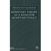 Monetary Theory as a Basis for Monetary Policy by Axel Leijonhufvud