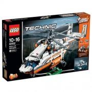 LEGO - Helicóptero de transporte pesado, multicolor (42052)