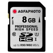 Cartão de Memória SDHC de Alta Velocidade AgfaPhoto 10502 Professional - 8GB