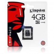 Card memorie Kingston MicroSDHC 4Gb fara adaptor Blister