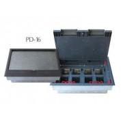Padlódoboz 16 modul 320,5x230,5x95mm (PD-16)