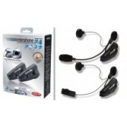 KIT Comunicatie Blue Tooth Pilot-Copilot sau 2 Motociclete- Interphone F4