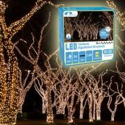 Novogodišnje lampice LED toplo bele za spoljnu i unutrašnju upotrebu 100 sijalica