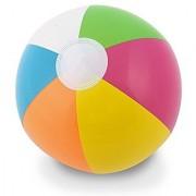 Kangaroo 12 Inflatable Neon Rainbow Beach Ball 12-Pack; Pool Toys; Beach Balls