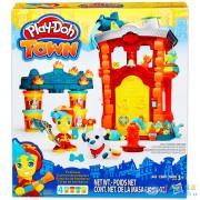 Play-Doh Town Tűzoltóház (Hasbro, B3415)