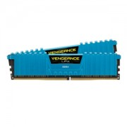 Memorie Corsair Vengeance LPX Blue 16GB (2x8GB) DDR4 3000MHz 1.35V CL15 Dual Channel Kit, CMK16GX4M2B3000C15B