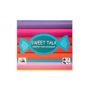 Prism Edutives SWEET TALK - sweeten your vocabulary with these word candies, sentence building game, vocabulary enhancer, grammar based game for primary years, parts of speech enhancer, family game, return gift idea, bulk orders accepted