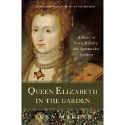 Queen Elizabeth in the Garden by Trea Martyn