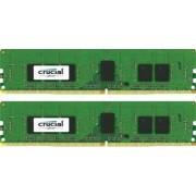 Kit Memorie Server Crucial ECC RDIMM 2x8GB DDR4 2400MHz CL17 Single Rank x8 Dual Channel