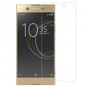 Sony Xperia XA1, Premium Real Azzil Tempered Glass , 2.5D 9H Anti-Fingerprints & Oil Stains Coating Hardness Screen Protector Guard for Sony Xperia XA1