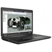 HP ZBook 17 i7-4710MQ 17.3 4GB/500 PC Core i7-4710MQ, 17.3 HD+ AG LED SVA, DSC, Webcam, 4GB DDR3 RAM, 500GB HDD, DVD+/-RW, AC, BT, 8C Battery, FPR, Win 7 PRO 64 w/Win 8.1 Pro LIC, 3yr Warranty