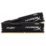Kingston HyperX Fury Black DDR4 2400MHz 8GB KIT2 (HX424C15FBK2/8)