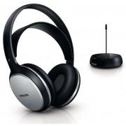 Casti Stereo Philips SHC5100, Wireless (Negru/Argintiu)