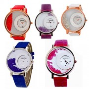 CREATOR Half Moon Promotional Gift ( Units 5) New Analog Watches - For Women