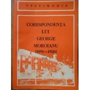 Corespondenta Lui George Moroianu (1891-1920) Vol. 1 - Serban Polverejan
