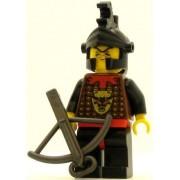 LEGO Castle Minifig Knights Kingdom I Robber 2 Black Dragon Helmet