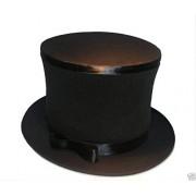 MAGIC FOLDING TOP HAT (Magician Top Hat Black)