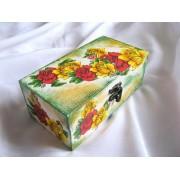 cutie lemn decorata 23150