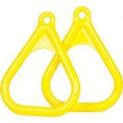 Swing Set Stuff Plastic Trapeze Rings SSS-0005 Color: Yellow