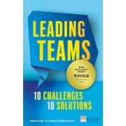 Leading Teams - 10 Challenges: 10 Solutions by Elisabet Vinberg Hearn