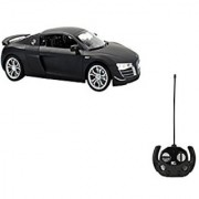 XTR Toys Showcase Select Xclusive 1:14 Scale Black Audi R8 GT Full Function Radio Control With Working Lights For Kids Age 8+