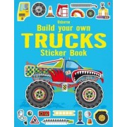 Build Your Own Trucks Sticker Book by Simon Tudhope