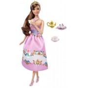 Barbie - muñeca Princess Tea Party Morena
