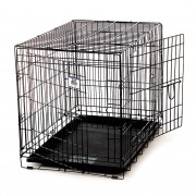 Pet Lodge Home Training Series Wire Kennel - Black - 154758