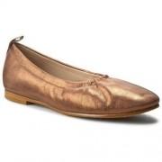 Clarks Baleriny CLARKS - Grace Mia 261230604 Bronze Metallic