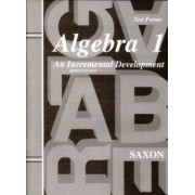 Saxon Algebra 1 Tests Only Third Edition by Jason Roucloux