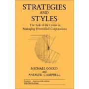 Strategies and Styles by Michael Goold