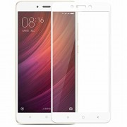 For REDMI NOTE 4 - WOW Imagine™ Pro HD+ 9H Hardness 2.5D 0.3mm Toughened FULL BODY Tempered Glass Screen Protector for XIAOMI MI REDMI NOTE 4 - White (Perfect Cutouts as per the INDIAN Redmi Note 4 Model)
