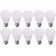 Kit 10 Lampadas LED Bulbo 9W