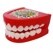 Wind Up Chatter Teeth - Deluxe - 6 Pack
