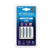 Incarcator Panasonic cu 4 acumulatori Eneloop AA 1900 mAh