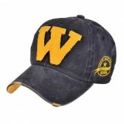 Sombrero unisex de moda del vintage de la gorra de beisbol - verde negruzco