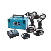 Akumulatorska udarna bušilica-odvijač SET Makita DLX2014WJX