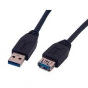 MCL Rallonge USB 3.0 type A m.le / femelle - 1a80m