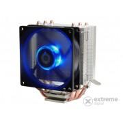 Ventilator ID-Cooling SE-903 CPU (23,1dB; max. 63,61 m3/h; 3pini, 3 x heatpipe, 9cm, LED albastru)