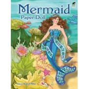Mermaid Paper Doll by Eileen Miller
