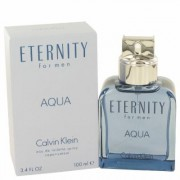 Eternity Aqua For Men By Calvin Klein Eau De Toilette Spray 3.4 Oz