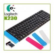 TECLADO INALAMBRICO MARCA LOGITECH K230 RECEPTOR USB