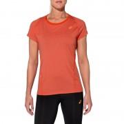 asics Top hardloopshirt SS rood Shirts