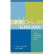 Brief English Handbook by Edward A. Dornan